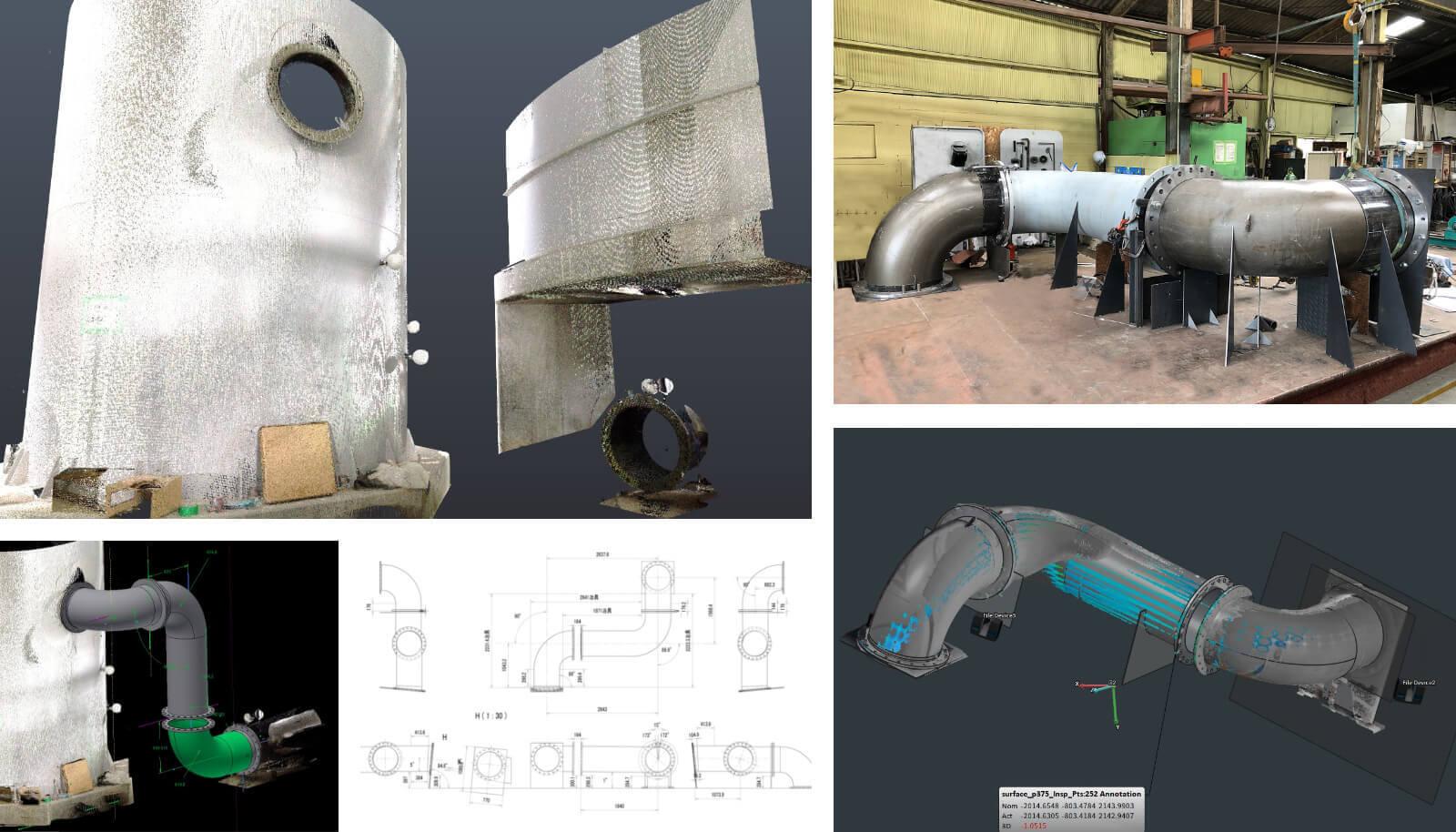 仮画像 建物全体を3D化させることができます。