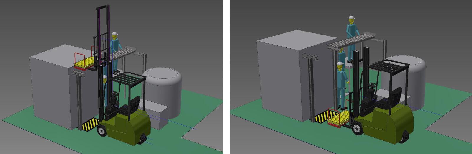 工場ライン省力化シュミレーション 設計・開発